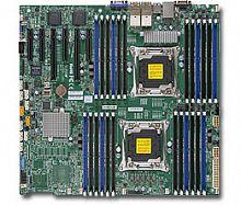 Материнская Плата SuperMicro MBD-X10DRI-LN4+-O Soc-2011 iC612 EEATX 24xDDR4 10xSATA3 SATA RAID iI350 4xGgbEth Ret (White Box)