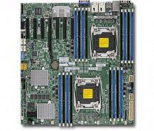 Материнская Плата SuperMicro MBD-X10DRH-C-O Soc-2011 iC612 eATX 16xDDR4 10xSATA3 SATA RAID iI350 2хGgbEth Ret