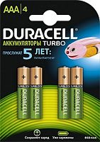 Аккумулятор Duracell Rechargeable HR03-4BL AAA NiMH 850mAh (4шт)
