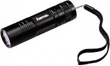 Фонарь ручной Hama R-103 черный 3Вт лам.:светодиод. AAAx3 (00136232)