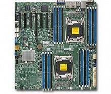 Материнская Плата SuperMicro MBD-X10DRH-I-O Soc-2011 iC612 eATX 16xDDR4 10xSATA3 SATA RAID iI350 2хGgbEth Ret