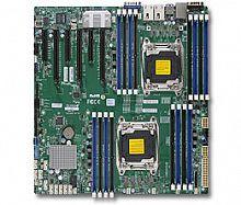 Материнская Плата SuperMicro MBD-X10DRI-T-O Soc-2011 iC612 eATX 16xDDR4 10xSATA3 SATA RAID iX540 2х10GgbEth Ret