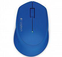 Мышь Logitech M280 синий оптическая (1000dpi) беспроводная USB (2but)