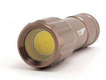 Фонарь карманный Яркий Луч L-090 Cob коричневый лам.:светодиод. AAAx3