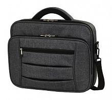 """Сумка для ноутбука 17.3"""" Hama Business темно-серый полиэстер (00101577)"""