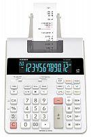 Калькулятор с печатью Casio FR-2650RC-W-EC серый/белый 12-разр.