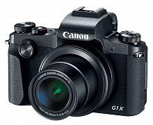 "Фотоаппарат Canon PowerShot G1X MARK III черный 24.2Mpix Zoom3x 3"" 1080p SDXC/SD/SDHC CMOS IS opt 10minF rotLCD TouLCD VF 7fr/s RAW 60fr/s HDMI/WiFi/NB-13L"
