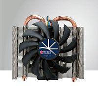 Устройство охлаждения(кулер) Titan TTC-ND15TB/PW(RB) Soc-FM2+/AM2+/AM3+/AM4/1151/1200 4-pin 16-38dB Al+Cu 95W 240gr Ret