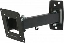 """Кронштейн для телевизора Kromax OPTIMA-103 черный 10""""-28"""" макс.25кг настенный поворотно-выдвижной и наклонный"""