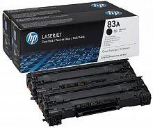 Картридж лазерный HP 83A CF283AF черный x2упак. (3000стр.) для HP LJ Pro M125nw/M127fw
