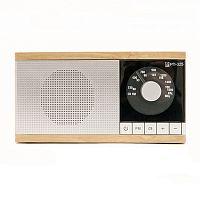 Радиоприемник портативный Сигнал БЗРП РП-325 коричневый/серебристый