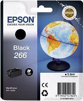 Картридж струйный Epson T266 C13T26614010 черный (250стр.) (5.8мл) для Epson WF-100W