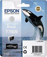 Картридж струйный Epson T7609 C13T76094010 серый (25.9мл) для Epson SureColor SC-P600