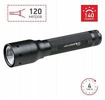 Фонарь ручной Led Lenser P5 черный лам.:светодиод. 140lx AAx1 (500895)
