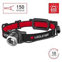 Фонарь налобный Led Lenser H8R черный лам.:светодиод. (500853)