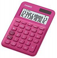 Калькулятор настольный Casio MS-20UC-RD-S-EC красный 12-разр.