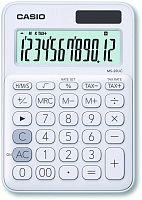 Калькулятор настольный Casio MS-20UC-WE-S-EC белый 12-разр.