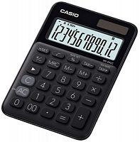 Калькулятор настольный Casio MS-20UC-BK-S-EC черный 12-разр.