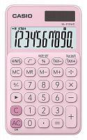 Калькулятор карманный Casio SL-310UC-PK-S-UC розовый 10-разр.
