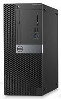 ПК Dell Optiplex 7050 MT i7 7700 (3.6)/16Gb/1Tb 7.2k/R7 450 4Gb/DVDRW/Windows 10 Professional/GbitEth/240W/клавиатура/мышь/черный/серебристый