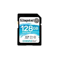Флеш карта SDXC 128Gb Class10 Kingston SDG/128GB Canvas Go