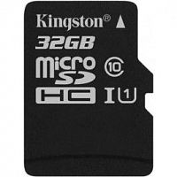 Флеш карта microSDHC 32Gb Class10 Kingston SDCS/32GBSP Canvas Select w/o adapter