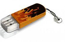 Флеш Диск Verbatim 16Gb Mini Elements Edition 49406 USB2.0 черный/рисунок