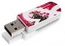 Флеш Диск Verbatim 16Gb Mini Graffiti Edition 49414 USB2.0 красный/рисунок
