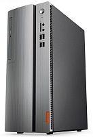 ПК Lenovo IdeaCentre 310-15IAP MT P J4205 (1.5)/4Gb/500Gb 7.2k/HDG505/Free DOS/GbitEth/черный/серебристый