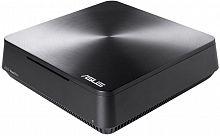 Неттоп Asus VivoPC VM45-G021M slim Cel 3865U (1.8)/4Gb/500Gb 5.4k/HDG610/CR/noOS/GbitEth/WiFi/BT/65W/темно-серый