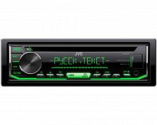 Автомагнитола CD JVC KD-R497 1DIN 4x50Вт