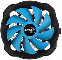 Устройство охлаждения(кулер) Aerocool BAS U-PWM Soc-FM2+/AM2+/AM3+/AM4/1150/1151/1155 4-pin 15-26dB Al 110W 361gr Ret