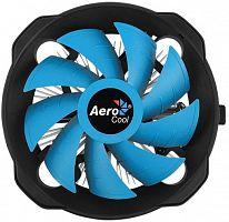 Устройство охлаждения(кулер) Aerocool BAS AUG Soc-FM2+/AM2+/AM3+/AM4/1150/1151/1155 4-pin 15-26dB Al+Cu 125W 361gr Ret