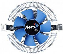 Устройство охлаждения(кулер) Aerocool Verkho I Soc-1150/1151/1155 4-pin 12-30dB Al 90W 190gr Ret