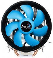 Устройство охлаждения(кулер) Aerocool Verkho 2 Plus Soc-FM2+/AM2+/AM3+/AM4/1150/1151/1155/ 4-pin 18-27dB Al+Cu 115W 444gr Ret