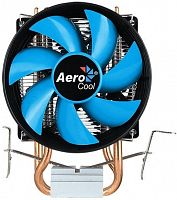 Устройство охлаждения(кулер) Aerocool Verkho 2 Dual Soc-FM2+/AM2+/AM3+/AM4/1150/1151/1155/2011 4-pin 15-25dB Al+Cu 120W 370gr Ret