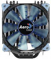 Устройство охлаждения(кулер) Aerocool Verkho 4 Dark Soc-FM2+/AM2+/AM3+/AM4/1150/1151/1155/2011 4-pin 15-27dB Al+Cu 145W 678gr Ret