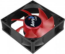 Вентилятор Aerocool Motion 8 Red-3P 80x80mm 3-pin 25dB 90gr LED Ret