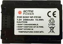 Аккумулятор для компактных камер и видеокамер AcmePower AP-NP-FZ100 для: Sony A7III/A7RIII/A9