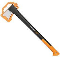 Топор Fiskars Х21 средний черный/оранжевый в комплекте:нож (1025436)