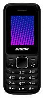 """Мобильный телефон Digma A170 2G Linx черный/синий моноблок 2Sim 1.77"""" 128x160 GSM900/1800 FM microSD max16Gb"""