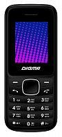"""Мобильный телефон Digma A170 2G Linx черный/красный моноблок 2Sim 1.77"""" 128x160 GSM900/1800 FM microSD max16Gb"""
