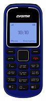 """Мобильный телефон Digma Linx A105 2G 32Mb темно-синий моноблок 1Sim 1.44"""" 98x68 GSM900/1800"""
