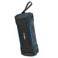 Колонка порт. Sven PS-220 черный/синий 10W 2.0 BT/3.5Jack/USB 10м 1200mAh (SV-016470)