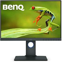 "Монитор Benq 24.1"" SW240 черный IPS LED 16:10 DVI HDMI матовая HAS Pivot 250cd 1920x1200 DisplayPort FHD USB"