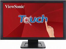 "Монитор ViewSonic 24"" TD2421 черный VA LED 5ms 16:9 DVI HDMI M/M глянцевая 50000000:1 200cd 178гр/178гр 1920x1080 D-Sub FHD USB Touch 5.16кг"