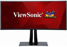 "Монитор ViewSonic 38"" VP3881 черный VA LED 5ms 21:9 HDMI матовая HAS Pivot 20000000:1 300cd 178гр/178гр 3840x1600 DisplayPort USB 12.69кг"