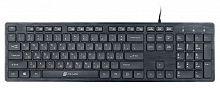 Клавиатура Oklick 520M2U черный/черный USB slim Multimedia