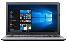 "Ноутбук Asus VivoBook X542UF-DM071 Core i5 8250U/8Gb/1Tb/nVidia GeForce Mx130 2Gb/15.6""/FHD (1920x1080)/Endless/dk.grey/WiFi/BT/Cam"