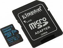 Флеш карта microSDXC 128Gb Class10 Kingston SDCG2/128GB Canvas Go + adapter